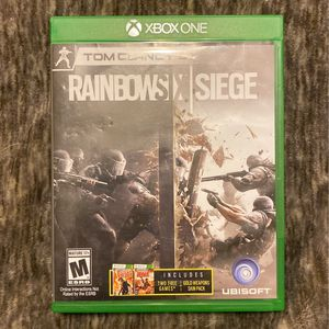 Rainbow Six Siege For Xbox One for Sale in Santa Maria, CA