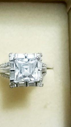 Bella Luce Diamond Simulant 5 Carat Square Asscher Cut for Sale in Franklin,  MA