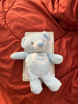 Kelly baby 10 in. My First Bear with Rattle for Sale in Fullerton, CA