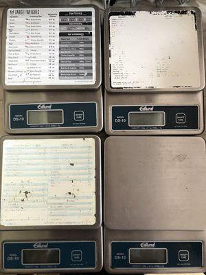 Edlund DS-10 portion (kitchen) scales for Sale in Orlando, FL