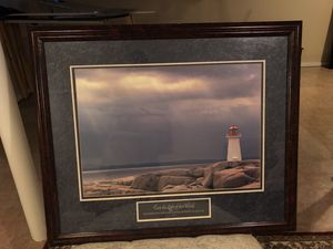 Large Lighthouse painting for Sale in Detroit, MI