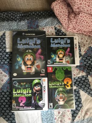 Luigi's Mansion Collection for Sale in Hillsboro, OR