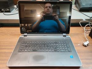 HP PAVILION 17 W/TOUCH REBUILT i5 cpu 12 GB ram 240gb ssd for Sale in Henderson, NV
