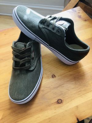 Vans Off The Wall Green Skateboard Sneaker for Sale in Chicago, IL
