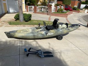 Hobbie outback camo kayak for Sale in Huntington Beach, CA