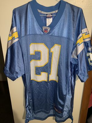 Men's Reebok San Diego LA Chargers Ladainian Tomlinson Football Jersey for Sale in Columbus, OH