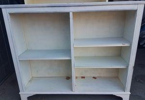 White 3 Shelf Bookcase (42H × 30W × 10D) for Sale in Phoenix, AZ