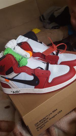 air Jordan retro 1 off white. Chicago for Sale in Lexington, KY