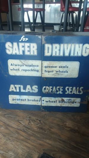 Atlaz grease seals mechanic metal cabinet for Sale in Omaha, NE
