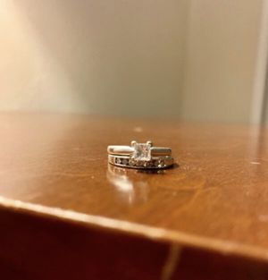 Engagement Ring and Wedding Band Set for Sale in Arvada, CO