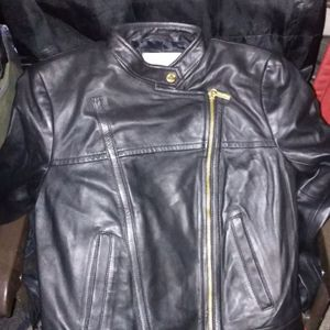 Michael Kors Womens Lamb Leather Jacket Size Small for Sale in Las Vegas, NV