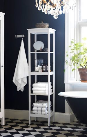 IKEA Hemnes White Shelving Unit Bookcase for Sale in Baltimore, MD