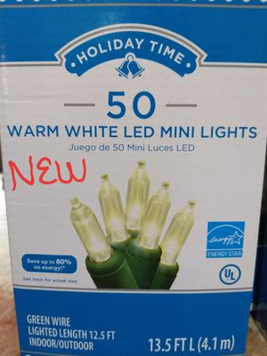WARM WHITE LED XMAS LIGHTS for Sale in Los Angeles, CA