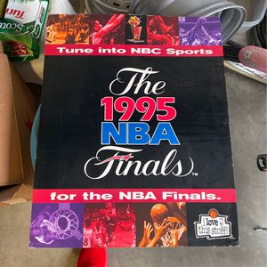 Cardboard Posters 95 NBA Playoffs Poster for Sale in Corona, CA