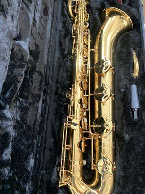 Jupiter JBS 1100 gold baritone saxophone for Sale in San Diego, CA