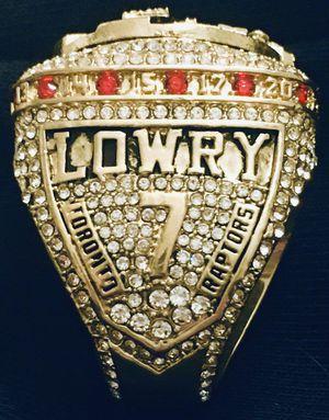 Toronto Raptors 🏀💥 NBA championship ring collectible for Sale in Warwick, RI