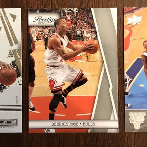 🔥Derrick Rose Rookies and Stars/2nd & 3rd Year Basketball Card Lot🔥 for Sale in Port St. Lucie, FL