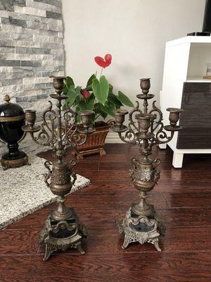 Iron candelabras for Sale in Frisco, TX