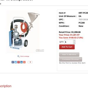 Drywall/Sheetrock texture machine for Sale in Portland, OR