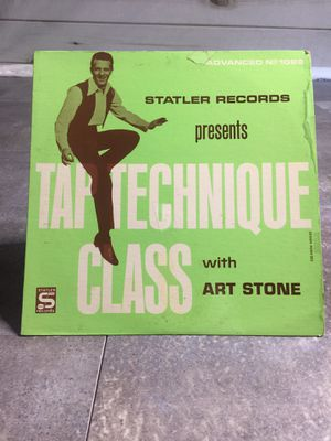 Tap Technique Class with Art Stone-LP 1098 for Sale in Poway, CA