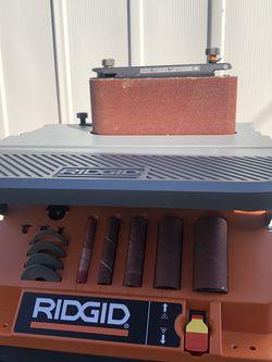 RIDGID Oscillating Edge/Belt Spindle Sander for Sale in La Habra,  CA