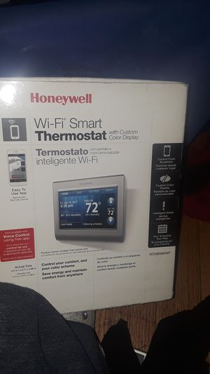 Wi-fi smart thermostat for Sale in North Highlands, CA