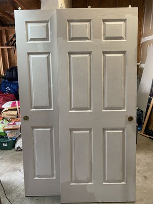Used sliding closet doors for Sale in Kent, WA