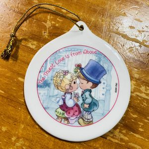 Precious Moments 2001 Christmas Ornament Double Sided- Ski and Couple for Sale in San Antonio, TX