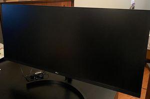 "LG 34"" Ultrawide Full HD Monitor Flat screen, used for Sale in Columbia, SC"