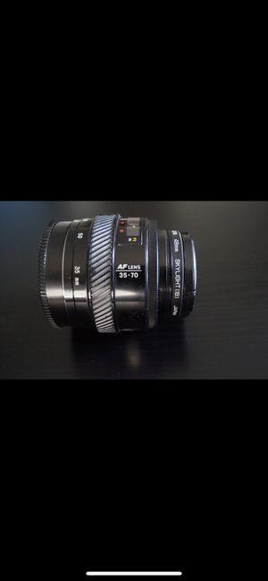 Minolta Hoya 49 mm AF Lens 35-70 for Sale in Costa Mesa, CA