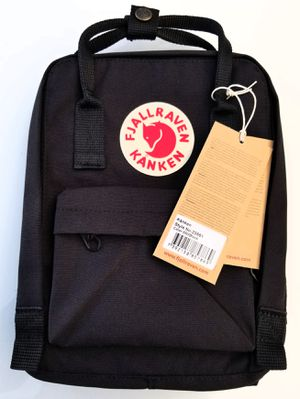 BRAND NEW BLACK FJALLRAVEN KANKEN BACKPACK MINI 7L WITH TAGS for Sale in Los Angeles, CA