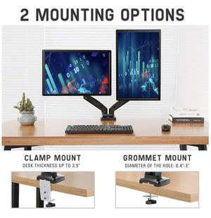 Mountup dual monitor desk mount stand for Sale in Orlando, FL