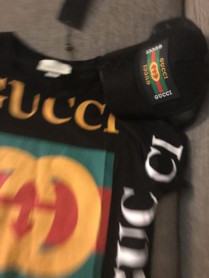 Gucci shirt and hat for Sale in Lithonia, GA