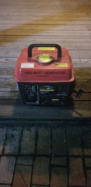 1000 watt generator for Sale in Broadway, VA