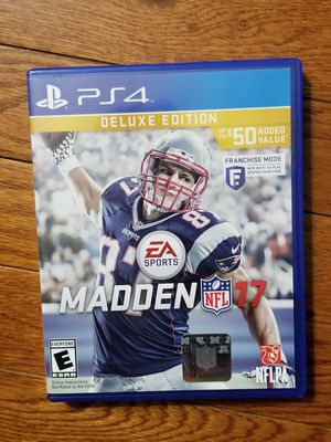 Ps4 Madden17 for Sale in Bethlehem, PA