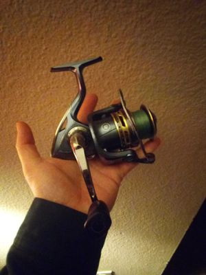 Pflueger President set up with 10 lbs test Big Game line! for Sale in Silverdale, WA