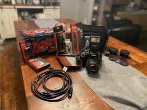 Canon Rebel T6i DSLR Bundle!!! for Sale in Livermore, CA