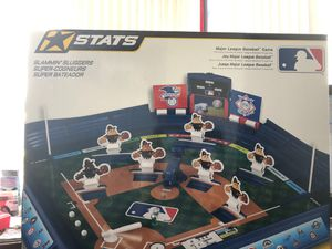 MLB game / toy Stats Slammin Slugger for Sale in Heyworth, IL