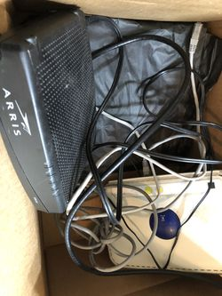 Arris modem with net gear router for Sale in Dulles,  VA