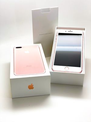 Like New 256GB Unlocked Apple iPhone 7 Plus (Rose Gold) for Sale in Irvine, CA