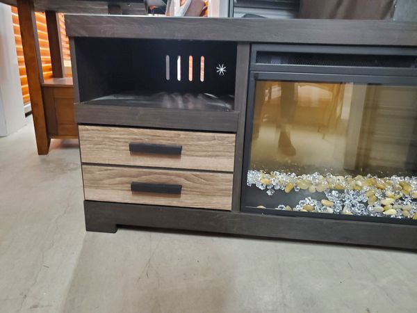 Entertainment Center with electric Fire Place