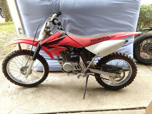 Honda CRF100 dirtbike 2007