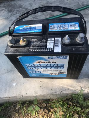 Rv battery new never used for Sale in Dearborn Heights, MI
