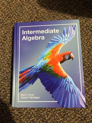 Intermediate Algebra by Turner for Sale in Shoreline, WA