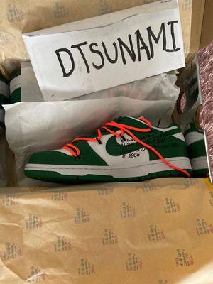 Nike Dunk x Off White Pine sz 9 for Sale in Washington, DC