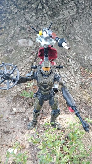 Halo Action Figure Collectible , Weapons Custom Made With Lego Parts for Sale in Manteca, CA