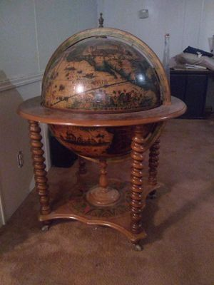 Antique globe bar for Sale in Abilene, TX