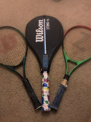 Tennis rackets for Sale in Pittsburg, KS