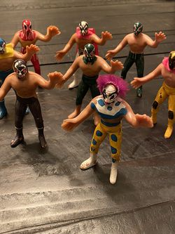 Lucha Libre Action Figurines, Bootleg for Sale in Monterey Park,  CA