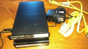 Netgear wifi cable modem router for Sale in Austin, TX